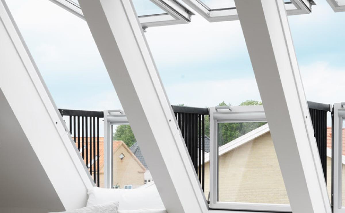 Verrière Velux - Fenêtre balcon