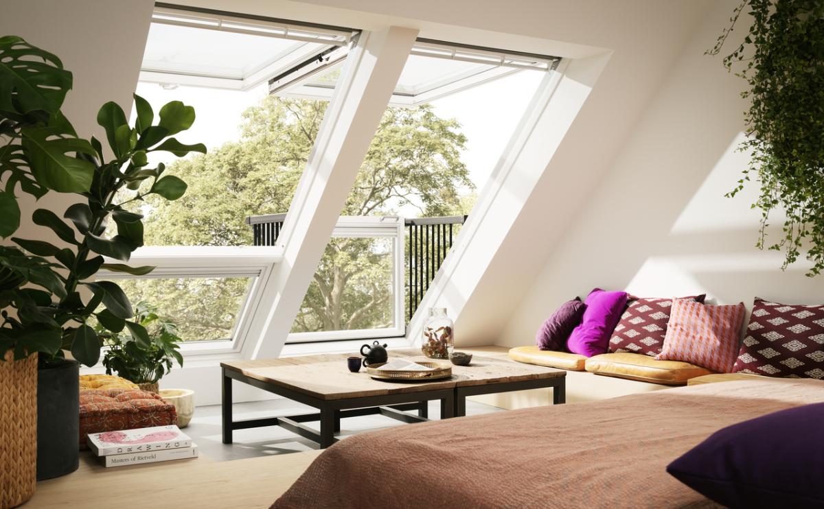 Velux - Combinaison de fenêtres de toit