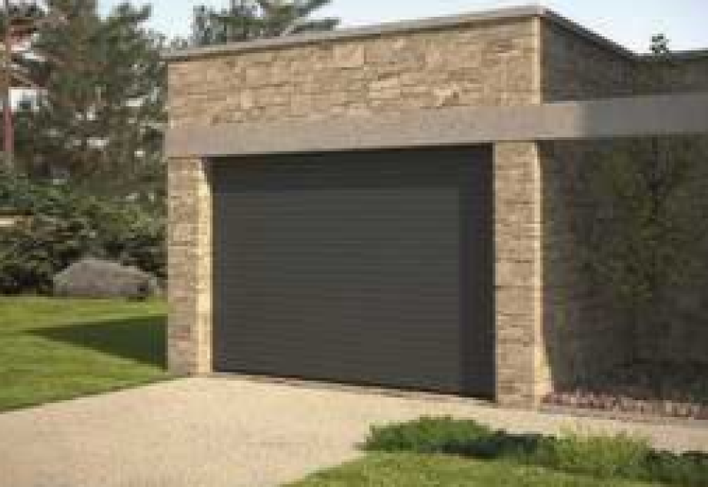 Porte de garage enroulable - Menuiserie